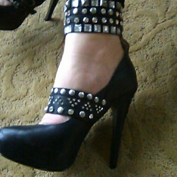 9b58593ae9a Rock & Candy by Zigi Black high heels